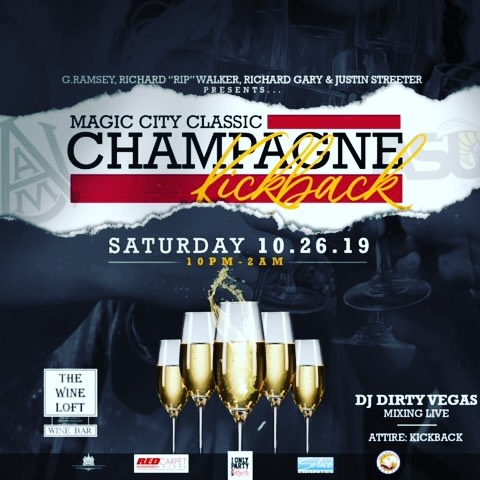 Magic City Classic Champagne Kickback